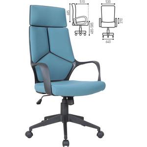 Кресло офисное Brabix Prime EX-515 ткань голубое 531568 кресло офисное brabix heavy duty hd 001 экокожа 531015