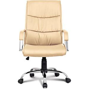Кресло офисное Brabix Space EX-508 экокожа хром бежевое 531165 кресло офисное brabix heavy duty hd 001 экокожа 531015