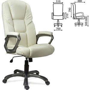 Кресло офисное Brabix Titan EX-579 экокожа бежевое 531399 кресло офисное brabix heavy duty hd 001 экокожа 531015