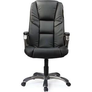 Кресло офисное Brabix Titan EX-579 экокожа черное 531398 кресло офисное brabix heavy duty hd 001 экокожа 531015