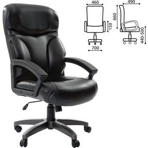 Кресло офисное Brabix Vector EX-559 экокожа премиум черное 531385 кресло офисное brabix heavy duty hd 001 экокожа 531015