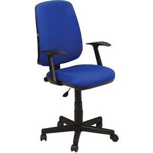 Кресло оператора Brabix Basic MG-310 с подлокотниками синее KB-12 531413