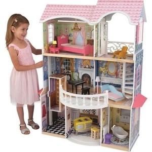 KidKraft Винтажный кукольный дом для Барби ''Магнолия'' (Magnolia) с мебелью 13 предметов (65839_KE)