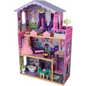 KidKraft Деревянный домик Барби ''Особняк мечты'' (My Dream Mansion) с мебелью 13 элементов (65082_KE)