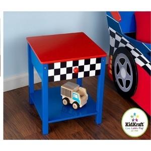 KidKraft Прикроватный столик ''Гоночная машина'' (Race Car Side Table) (76041_KE)