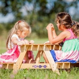 PAREMO Детский стол-пикник из дерева (PS316)