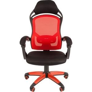 Фото - Офисноекресло Chairman game 12 черно-красный седло sdg bel air rl 2 0 cro mo 270х140мм черно красный 06260ds