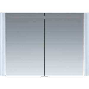 все цены на Зеркальный шкаф Am.Pm Sensation 100 см с подсветкой светло-голубой (M30MCX1001BG) онлайн