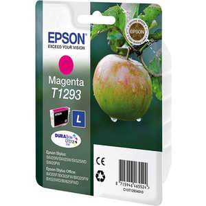 Картридж Epson Magenta Stylus (C13T12934011) картридж epson t009402 для epson st photo 900 1270 1290 color 2 pack