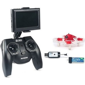 Радиоуправляемый квадрокоптер Blade Inductrix FPV+ (DVR) RTF diy rtf racer 190 fpv drone f3 flight controller at9s fs i6 transmitter camera goggle glass rc multicopter helicopter f18893 q