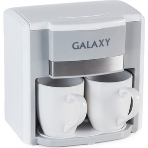 Кофеварка GALAXY GL 0708 белый бетоносмеситель zitrek zbr 260 220в 024 0708