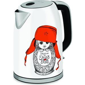 Чайник электрический Polaris PWK 1715CA чайники электрические polaris чайник pwk 1864ca 1 8л 1800вт