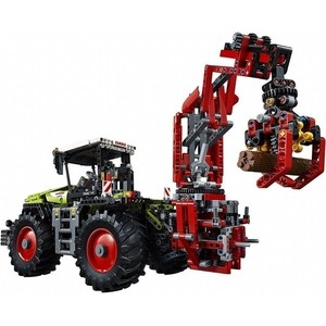 Конструктор Lepin Technics 20009 трактор Claas Xerion 5000 Trac VC трактор bruder claas axion 950 03 012