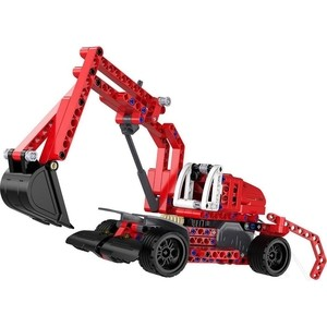 Конструктор Cada Technics экскаватор с инерционным механизмом, 235 деталей конструктор cada technic convoy truck rc49602