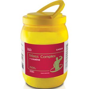 Гейнер BBB Mass Complex ( с креатином) ваниль 1,5 кг цена