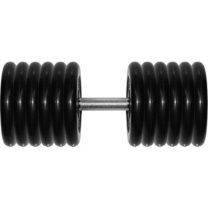 Гантель MB Barbell Профи 61,0 кг fitness barbell power necklace