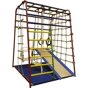 Детский спортивный комплекс Вертикаль Весёлый Малыш NEXT спортивные комплексы вертикаль а1 п детский спортивный комплекс с горкой