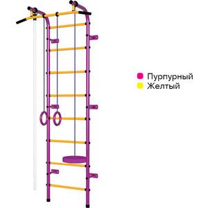 Детский спортивный комплекс Пионер С1НМ пурпурно/жёлтый
