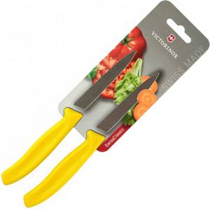 Набор ножей 2 предмета Victorinox желтый (6.7796.L8B) набор ножей 3 предмета victorinox 6 7113 31