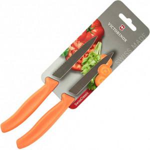 Набор ножей 2 предмета Victorinox оранжевый (6.7796.L9B) набор ножей 3 предмета victorinox 6 7113 31