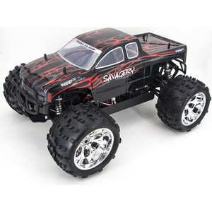 Радиоуправляемый монстр HSP Nokler Truck 4WD TOP 1:8 2.4G - 94062TOP-86297 hsp flying fish rc drift car 1 10 scale on road 4wd brushless top version high speed 94103top 12372