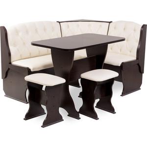 Набор мебели для кухни Бител Орхидея - люкс (венге, Борнео крем, венге) набор мебели для кухни бител орхидея однотонный венге борнео умбер венге