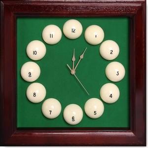Часы Fortuna Бильярд SR4665 махагон 44x44 см