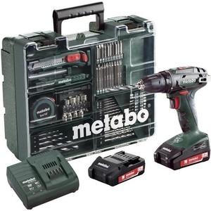 Аккумуляторная дрель-шуруповерт Metabo BS 18 (602207880) цена