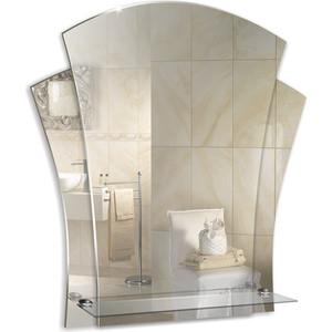 Зеркало Mixline Лилия 480х550 с полкой (4620001980611) зеркало mixline верона 500х950 4620001983520