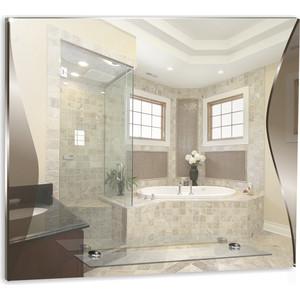 Зеркало Mixline Локон 590х500 с полкой (4620001980628) зеркало mixline восторг 515х740 4620001980338