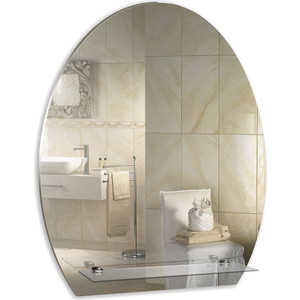 Зеркало Mixline Уют 490х580 с полкой (4620001981038) зеркало уют