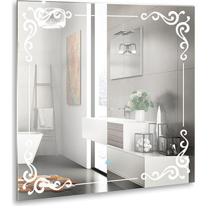 Зеркало Mixline Капри 770х770 сенсорный выключатель (4620001985463) капри apanage капри