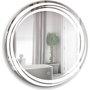 Зеркало Mixline Милуз D770 сенсорный выключатель (4620001985241) зеркало mixline капри 770х770 сенсорный выключатель 4620001985463