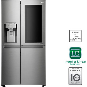 Холодильник LG GC-X247CAAV gelid gc supreme tc gc 04 01 шприц 7 гр