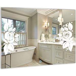 Зеркало Mixline Роза 915х685 сенсорный выключатель (4620001984800) зеркало mixline капри 770х770 сенсорный выключатель 4620001985463