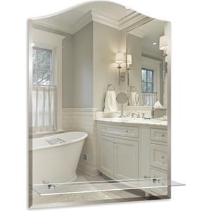 Зеркало Mixline Сириус-Люкс 490х670 с полкой и фацетом (4620001980925) зеркало д ванной модерн люкс 60х80 см с полкой фацетом 10мм