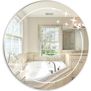 Зеркало Mixline Звезда круглое 580 мм (4620001981649) roomble зеркало круглое white wash