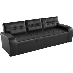 Диван АртМебель еврокнижка Классик эко-кожа черный диван еврокнижка ева