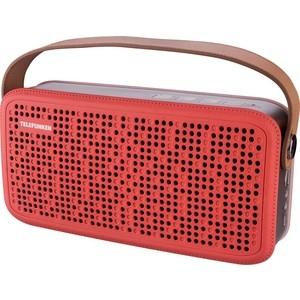 Портативная колонка TELEFUNKEN TF-PS1230B красный/коричневый