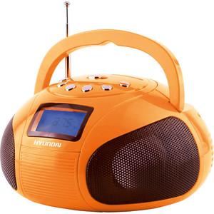 Магнитола Hyundai H-PAS120 оранжевый магнитола rolsen rbm411or оранжевый