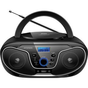 Магнитола Hyundai H-PCD140 черный/серый hyundai h pas220 черный с синим