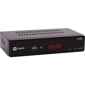 Тюнер DVB-T2 HARPER HDT2-5050