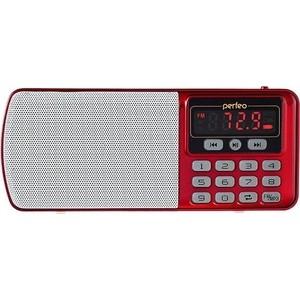 Радиоприемник Perfeo Егерь FM+ красный (i120-RED)