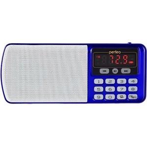 Радиоприемник Perfeo Егерь FM+ синий (i120-BL) радиоприемник perfeo егерь fm красный i120 red
