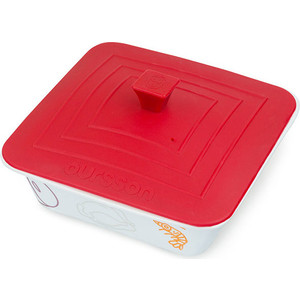 Форма для приготовления с крышкой Oursson Cerammic & Silicone Мясо-Рыба (BW2506C/RD) для цитрусовых oursson jm1001 rd