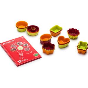 Набор мини-форм для выпечки 24 штуки Oursson Silicone (BW0550SS/MC)