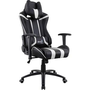 Кресло для геймера Aerocool AC120 AIR-BW черно-белое с перфорацией оригинал кресло мешок кожаное оригинал груша черно белое oo6 elyy 6276361