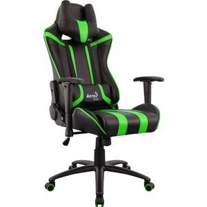 Кресло для геймера Aerocool AC120 AIR-BG черно-зеленое с перфорацией ящик для инструментов truper т 15320