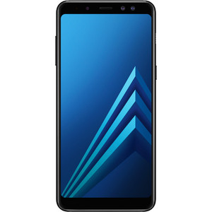 Смартфон Samsung Galaxy A8 (2018) SM-A530F 32Gb Black смартфон samsung sm a530f galaxy a8 2018 32gb blue