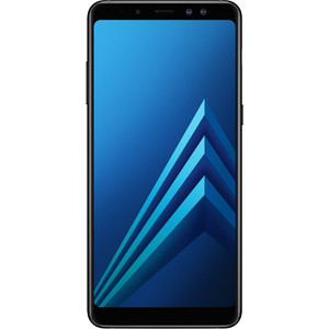 Смартфон Samsung Galaxy A8+ (2018) SM-A730F 32Gb Black смартфоны samsung смартфон galaxy a8 32gb чёрный